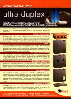 Gruppoeffe Ultraduplex kémény kerámia füstcső rendszer