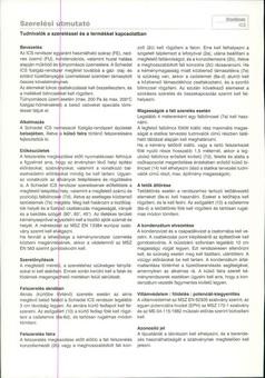 Schiedel ICS kémény szerelési útmutató
